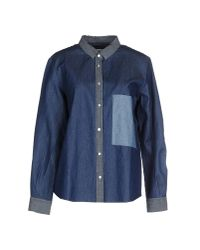 Golden Goose Deluxe Brand - Blue Denim Shirt - Lyst