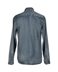 Cheap Monday - Blue Denim Shirt for Men - Lyst