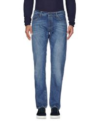 M. Grifoni Denim | Blue Denim Trousers for Men | Lyst
