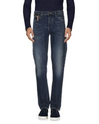 Armani Jeans | Blue Denim Pants for Men | Lyst