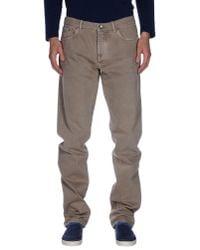 Brunello Cucinelli - Multicolor Denim Trousers for Men - Lyst