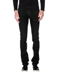 Notify | Black Denim Pants for Men | Lyst