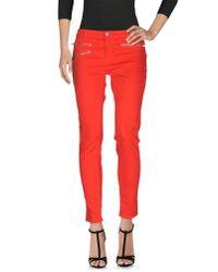 J Brand | Black Denim Trousers | Lyst