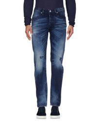 Takeshy Kurosawa - Blue Denim Pants for Men - Lyst