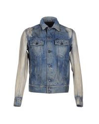 DIESEL | Blue Denim Outerwear for Men | Lyst