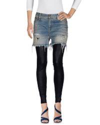 R13 | Blue Denim Pants | Lyst