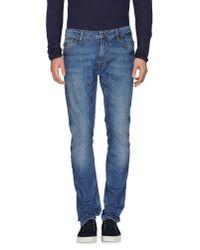 Guess | Blue Denim Pants for Men | Lyst