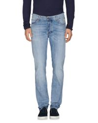 Roy Rogers | Blue Denim Pants for Men | Lyst