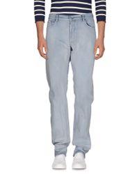 Stone Island | Blue Denim Pants for Men | Lyst