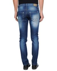Jeanseng - Blue Denim Pants for Men - Lyst