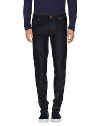 Dolce & Gabbana - Blue Denim Pants for Men - Lyst