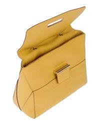 Furla Yellow Handbag
