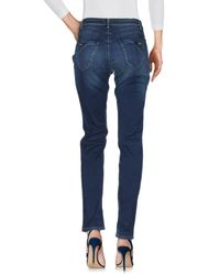 Trussardi - Blue Denim Pants - Lyst