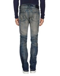 Fabric-Brand & Co. - Blue Denim Pants for Men - Lyst
