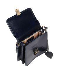GIADA PELLE - Blue Cross-body Bags - Lyst