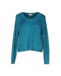 Pinko - Blue Sweater - Lyst