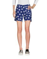 Department 5 Blue Denim Shorts
