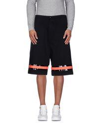 Cy Choi - Black Bermuda Shorts for Men - Lyst