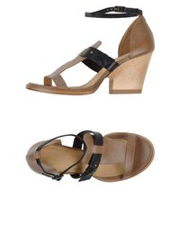 Ellen Verbeek - Brown Sandals - Lyst