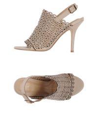 Lola Cruz - Natural Sandals - Lyst
