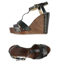 Twin Set - Brown Sandals - Lyst