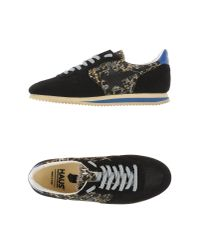 Haus By Golden Goose Deluxe Brand - Black Haus Paneled Leather Low-Top Sneakers - Lyst