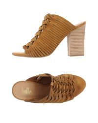 Belle By Sigerson Morrison | Natural Sandals | Lyst