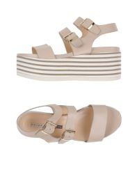 Chiarini Bologna - Natural Sandals - Lyst