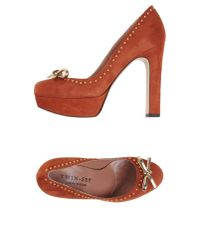 Twin Set - Red Pump - Lyst