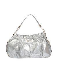 Pinko - Metallic Handbag - Lyst