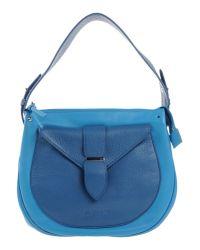 Jil Sander Navy - Blue Handbag - Lyst