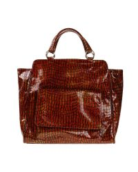 Essentiel - Brown Handbag - Lyst