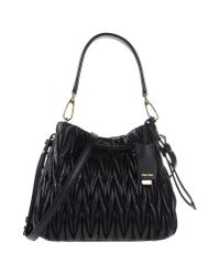 Miu Miu | Black Small Paillette Bag | Lyst