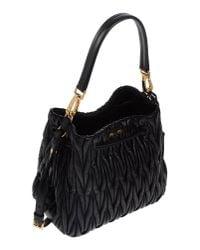 Miu Miu - Black Small Paillette Bag - Lyst