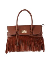 Annarita N. | Brown Handbag | Lyst