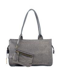 Nicoli - Gray Shoulder Bag - Lyst