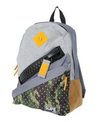 Supe Design - Gray Backpacks & Bum Bags - Lyst