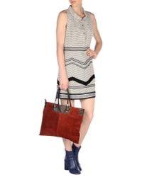 Nine2Twelve - Red Handbag - Lyst