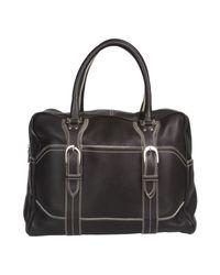Santoni - Brown Travel & Duffel Bag - Lyst