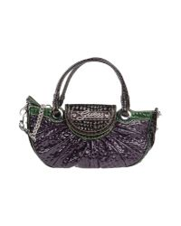 Guess - Purple Jasleen Small Box Satchel - Lyst
