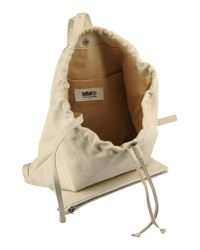 MM6 by Maison Martin Margiela - Natural Backpacks & Fanny Packs - Lyst
