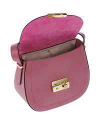 Ab Asia Bellucci - Pink Cross-body Bag - Lyst