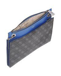 Guess - Blue Shoulder Bag - Lyst