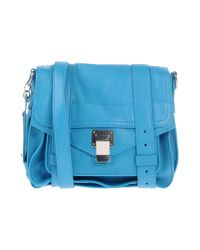 Proenza Schouler | Blue Handbag | Lyst