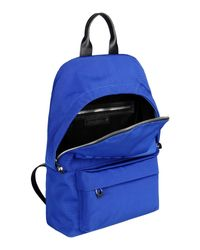 McQ - Blue Backpacks & Bum Bags for Men - Lyst