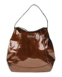 Ferrè Milano | Brown Handbag | Lyst