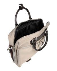 Pedro Del Hierro Madrid - Gray Work Bags for Men - Lyst