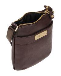 Guess - Brown Cross-body Bag - Lyst