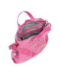 Bao Bao Issey Miyake - Pink Cross-body Bag - Lyst