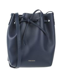 Mansur Gavriel - Blue Cross-body Bag - Lyst